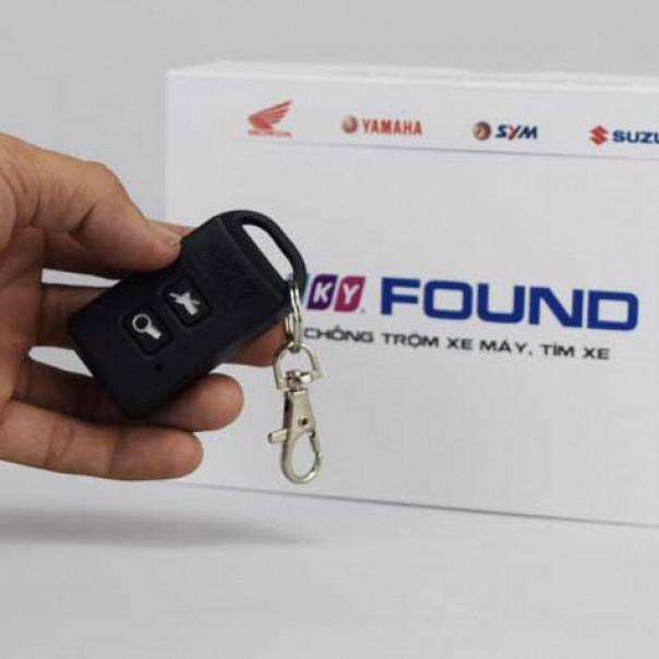 Khóa chống trộm xe máy Remote thẻ từ iKY FOUND